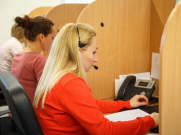 Supervizor call centra Ostrava 20 – 35000 Kč/měsíčně
