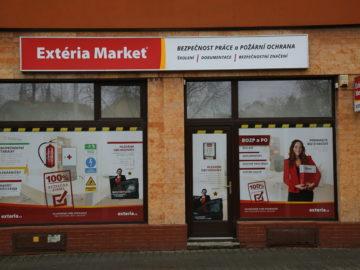 Fungující franchisa EXTÉRIA MARKET Ostrava
