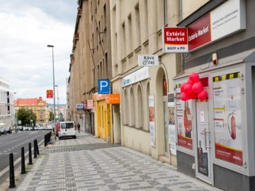 EXTÉRIA MARKET Praha 8